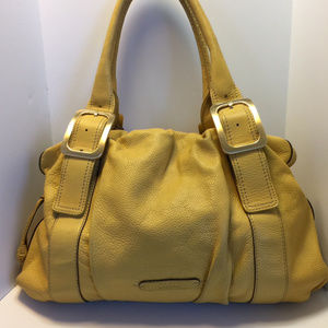 Cole Haan Yellow Leather Shoulder Bag